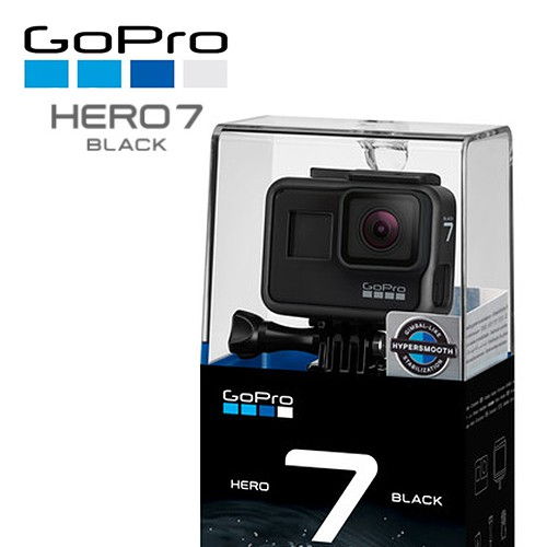 GoPro Hero7 Black (1 year warranty)