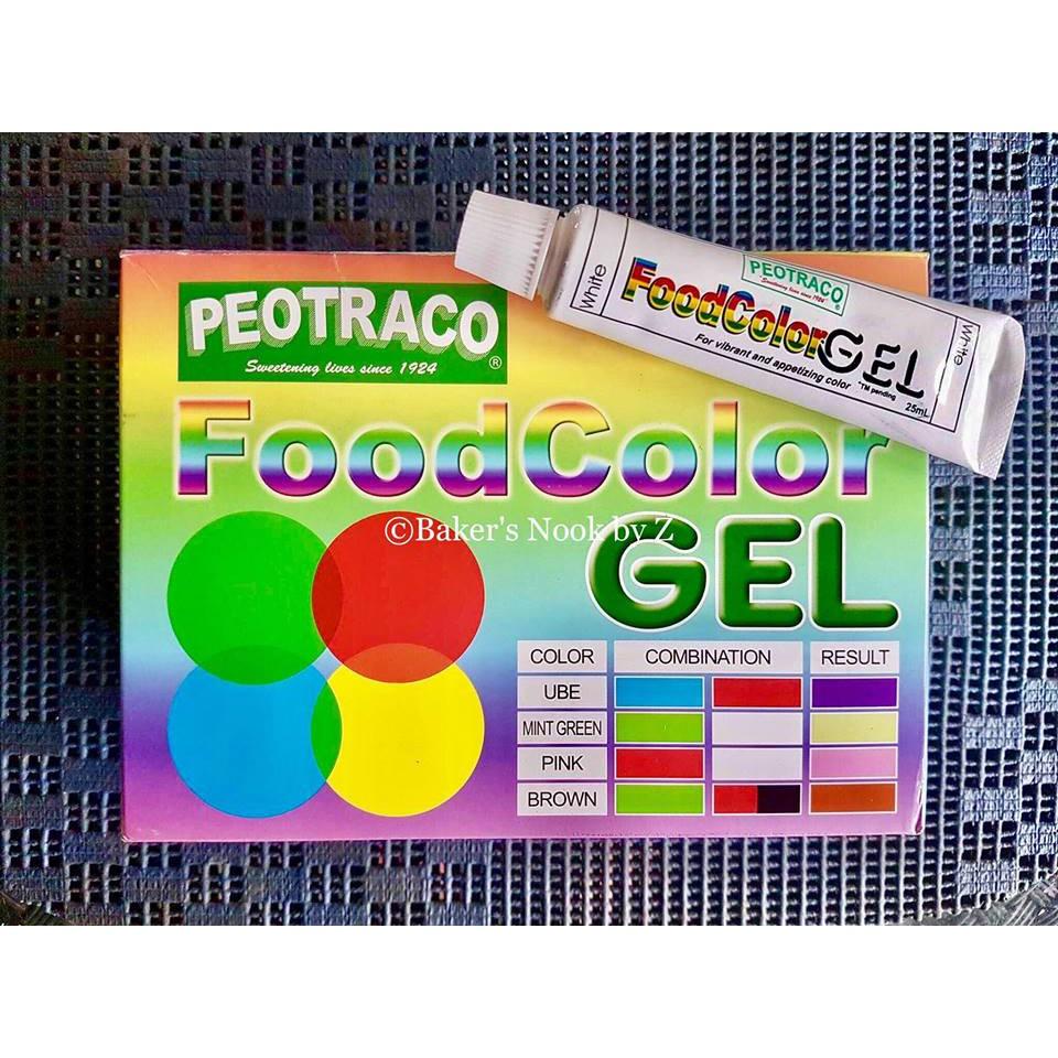 Peotraco Food Color Gel