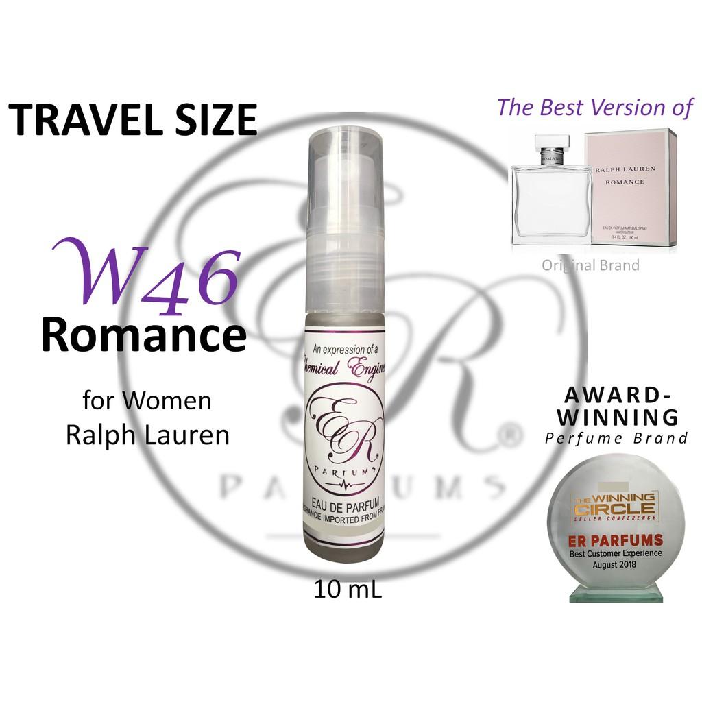ER PARFUMS W46 Romance for Women by Ralph Lauren 10ml