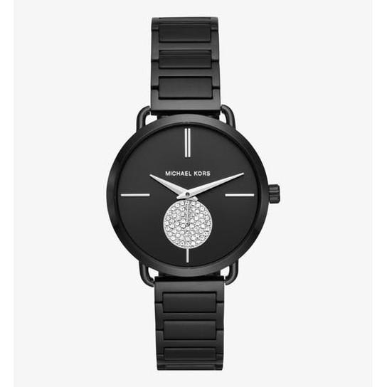07060f83eb95 Michael Kors MK3317 Black Slim Runway Women s MK Watch