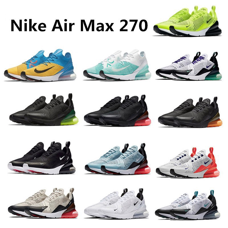big sale 8e87f 96d12 Original Nike Air Max 270 unisex running shoes sport shoes
