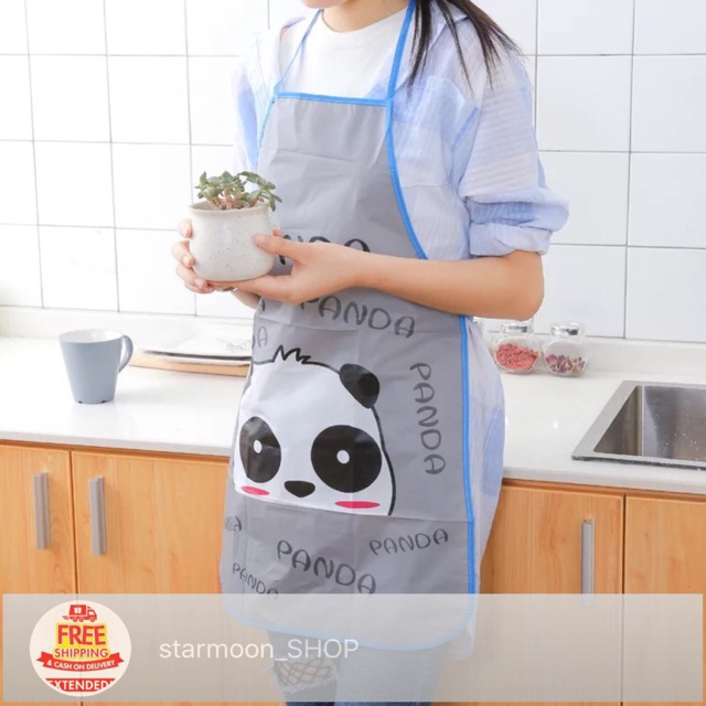 b068f6a93 Funny Waterproof Chef BBQ Kitchen Cooking Women Men Aprons | Shopee  Philippines
