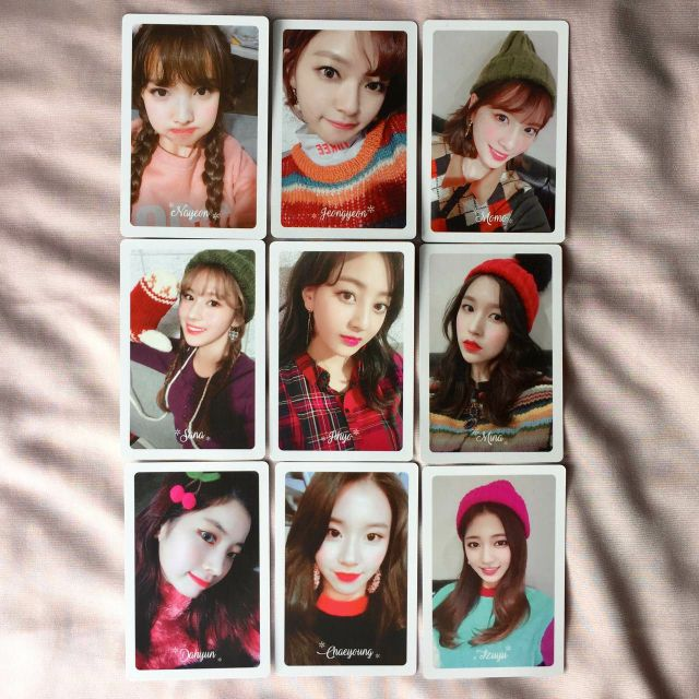 Twice Merry & Happy Photocard