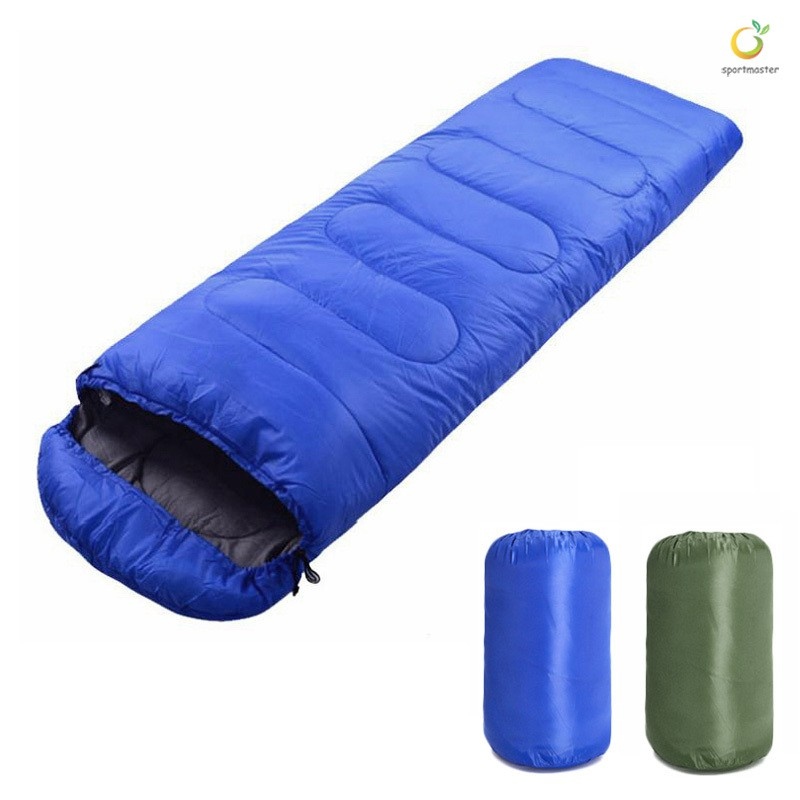 Sleeping Bag With Compression Sack