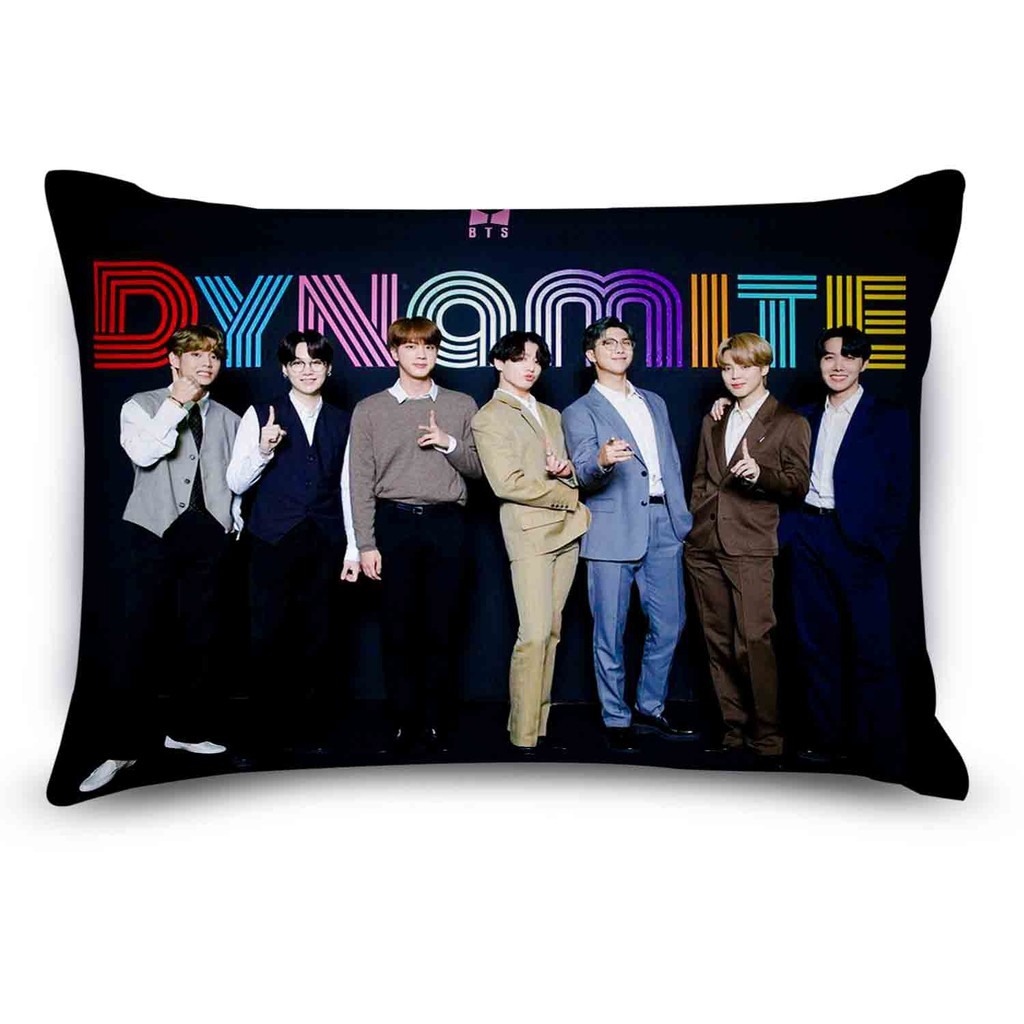 BTS 9×12″ mini pillow with FREE GIFT set