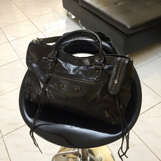 Preloved Authentic Classic Balenciaga City Bag Shopee Philippines