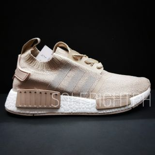 premium selection 10398 da919 Adidas NMD R1 Primeknit French Beige | Shopee Philippines