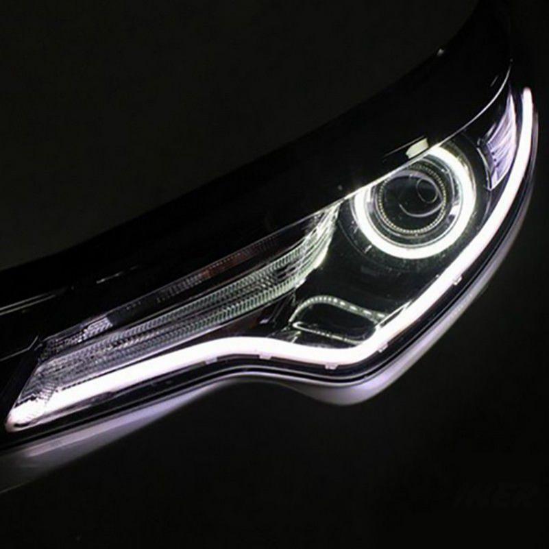 Motors Car Truck Led Light Bulbs Drl Eyebrow Light Car