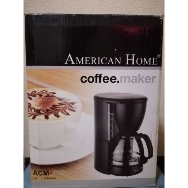 American Home Coffee Maker Brand New Authentic Shopee Philippines