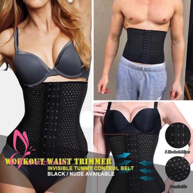 f2e9aa9bb7 New (COD) Useful Waist Trainer Slimming Belly Girdle Belt Underbust Corset  Body Shaper
