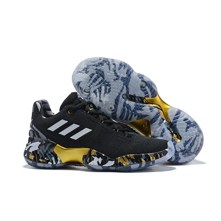 82e0d7706 adidas Pro Bounce Low 2018 Black White Basketball Shoes