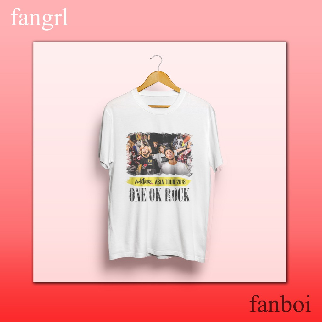 148da94a4e One Ok Rock Stand Out Fit In Shirt   Shopee Philippines