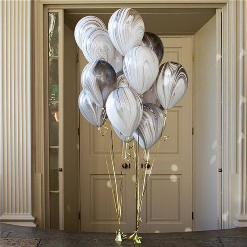 """On Your Wedding Day 12/"""" Printed Gold Latex Balloons Pack of 20 Dove"""