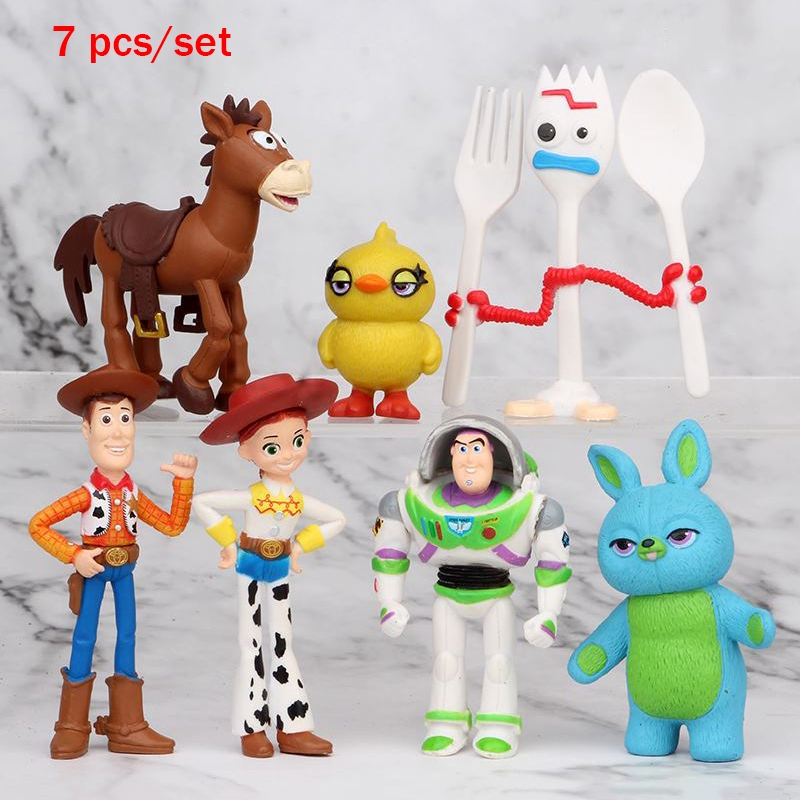 cute Tinker Bell little baby anime figure figures Set of 6pcs doll Toy L388