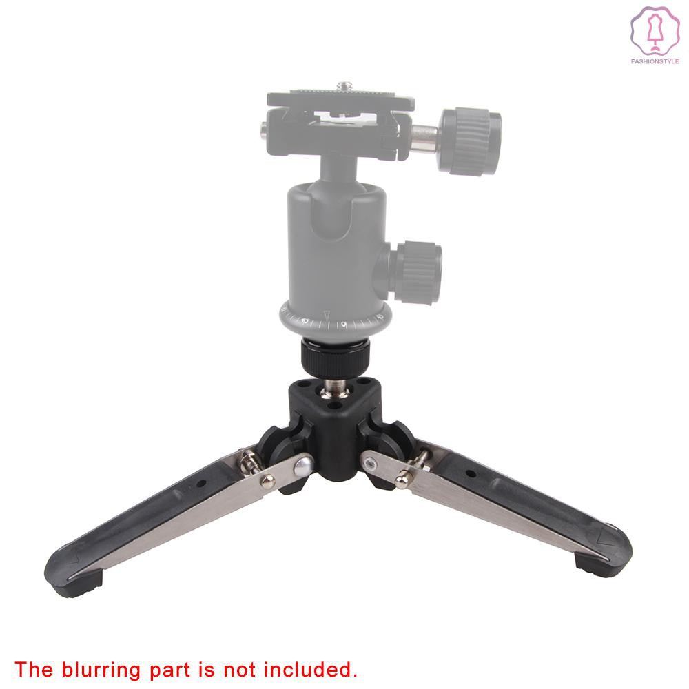 Andoer 3 Legs 3 Feet Tripod Monopod Base Stand Unipod Holder Support Portable 1//4 Screw for DSLR Camera