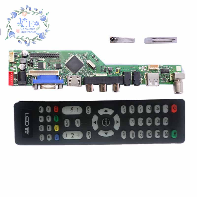 T Rd8503 03 Skr 03 8501 Lcd Tv Controller Driver Board Tv/Pc/Vga/Hdmi