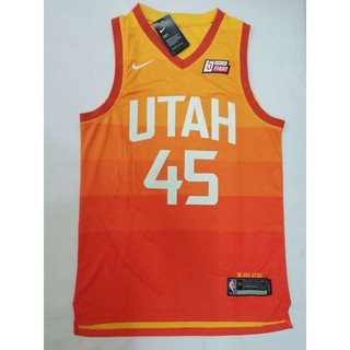 separation shoes 222e2 909f7 NBA Utah Jazz 45 Donovan Mitchell Swingman Basketball jersey ...