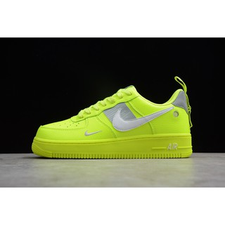 NIKE air Force 1 Low green AF 1 Utility Surfaces In Volt Shoes skateboard Shoes