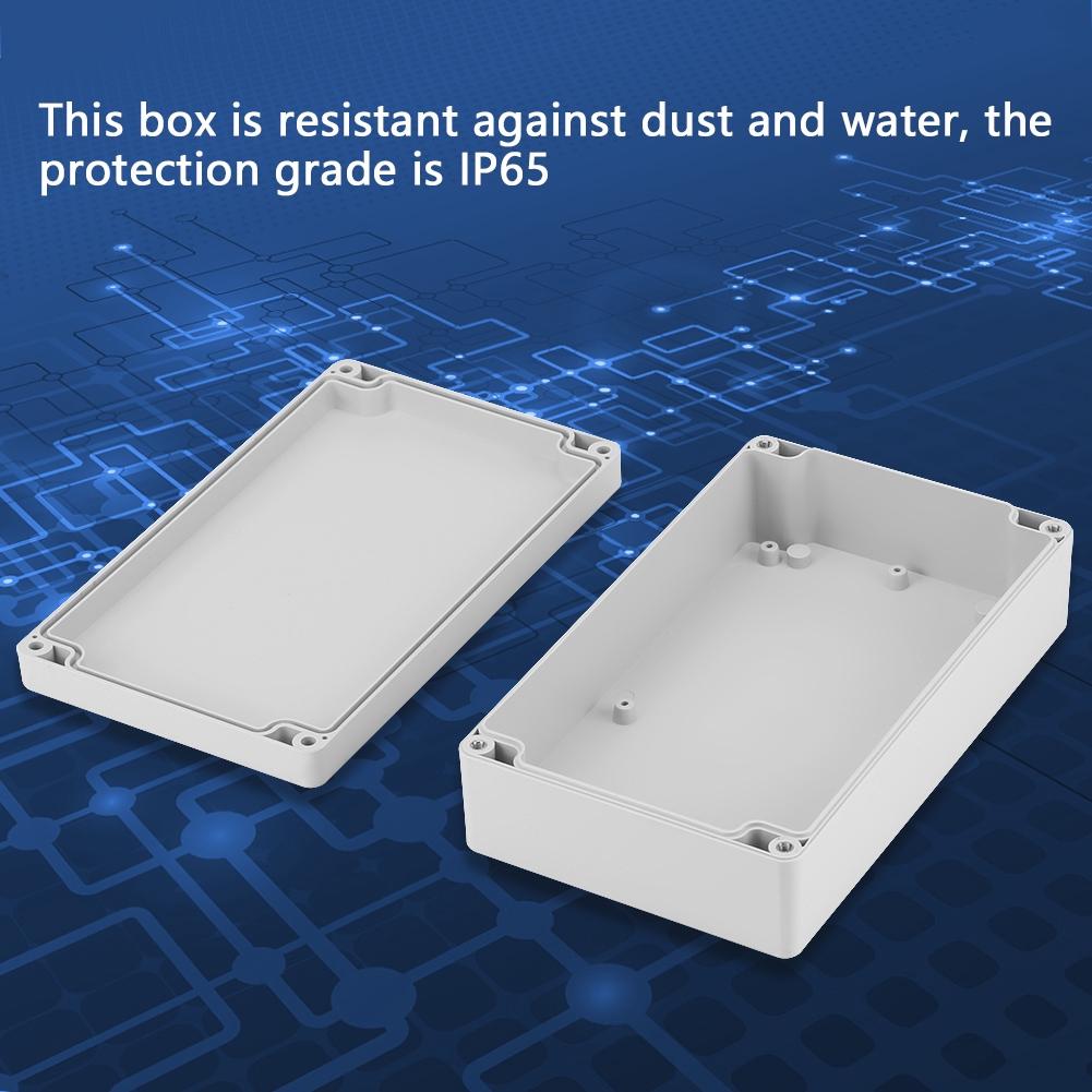 263*185*95mm Moisture-proof Plastic Enclosure Project Case DIY Junction Box IP65