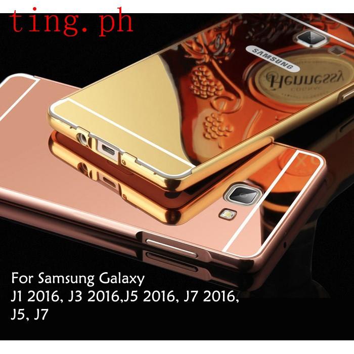 Samsung Galaxy J1 J3 J5 J7 2016 Mirror Cover Case Casing | Shopee Philippines