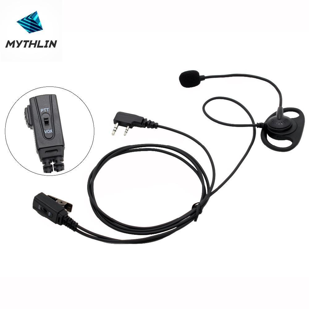Clip Ear Headset Earpiece for Baofeng UV5R GT-3 GT-3TP UV5RA Plus UV5RE Plus