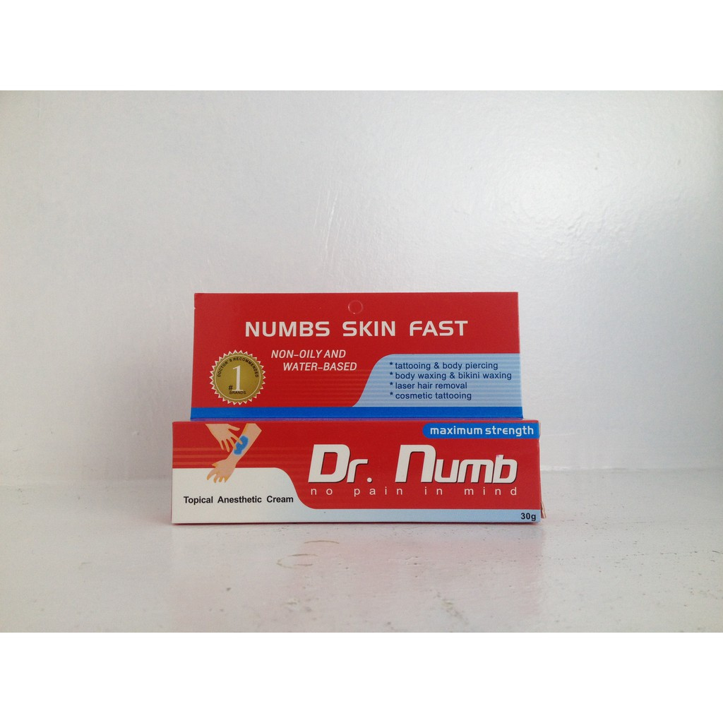Dr Numb Anesthesia Cream 30g Shopee Philippines