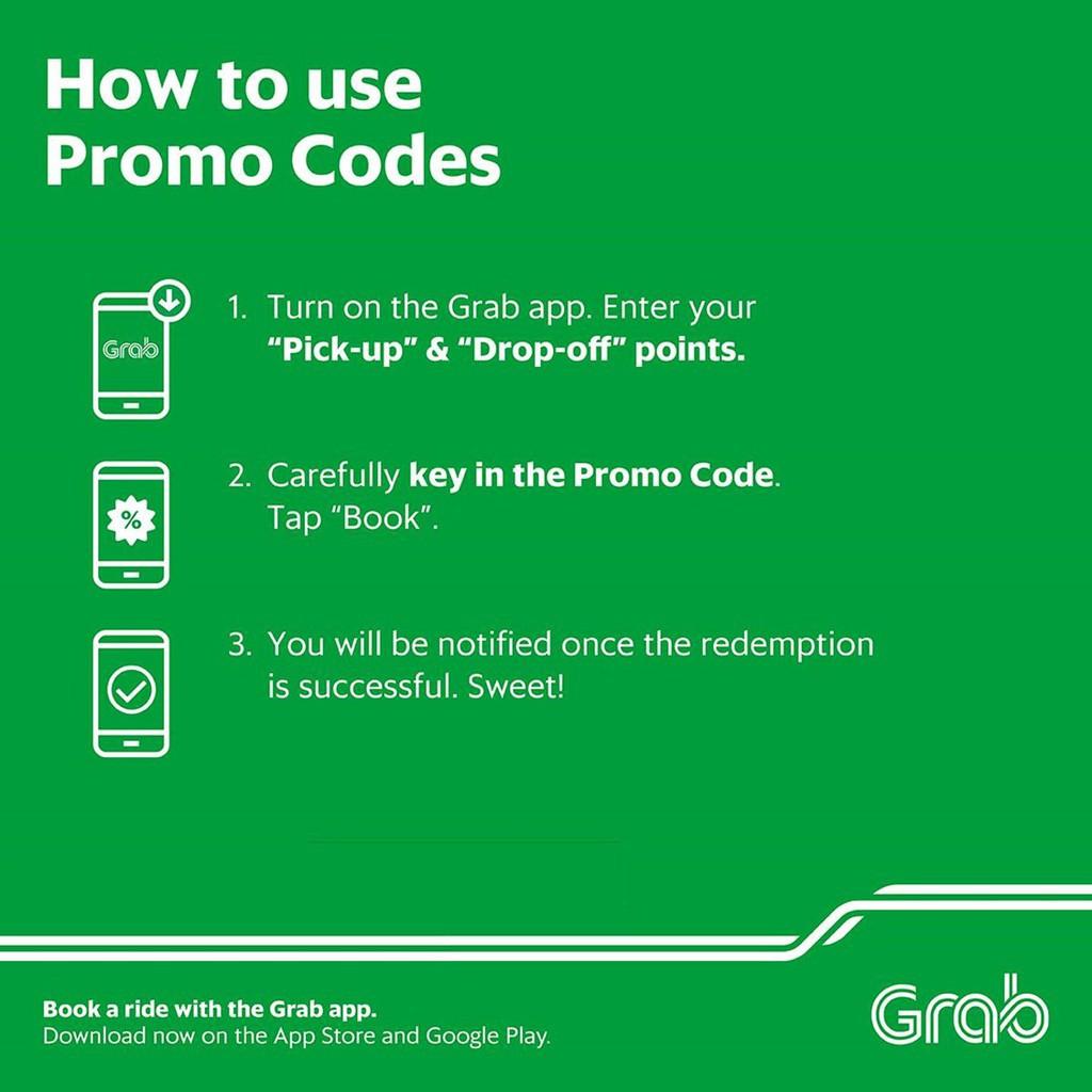 Grab Promo Code (₱100)