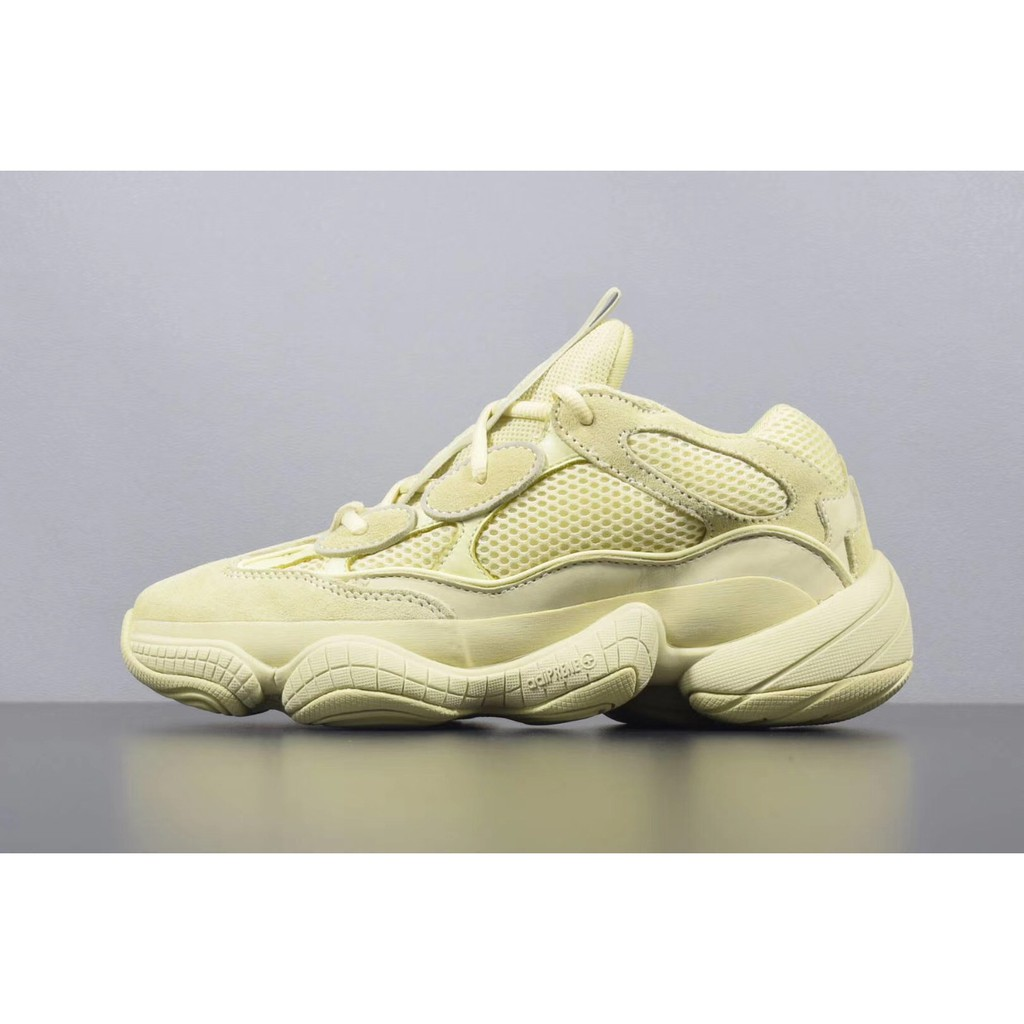 65f52446f Adidas Yeezy 500 Desert Rat Real Boost Running Shoes