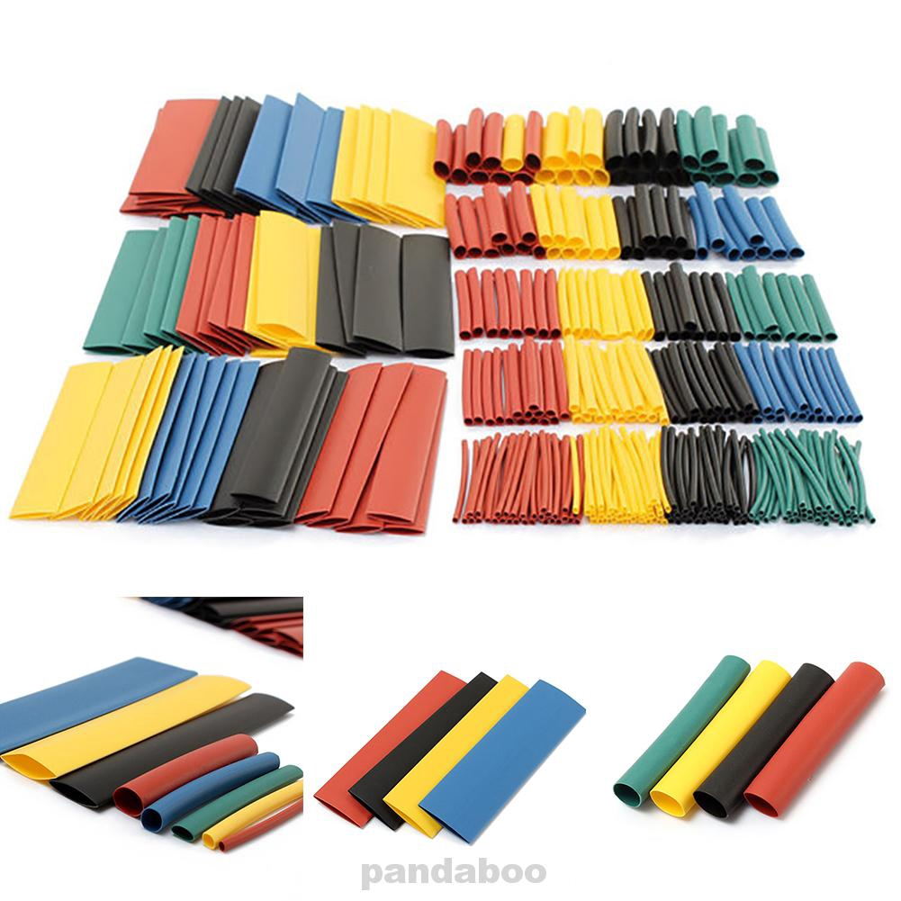 1060Pcs Heat Shrink Wire Cable Tubing Tube Sleeve Wrap Shrinkage Ratio 2:1 Set