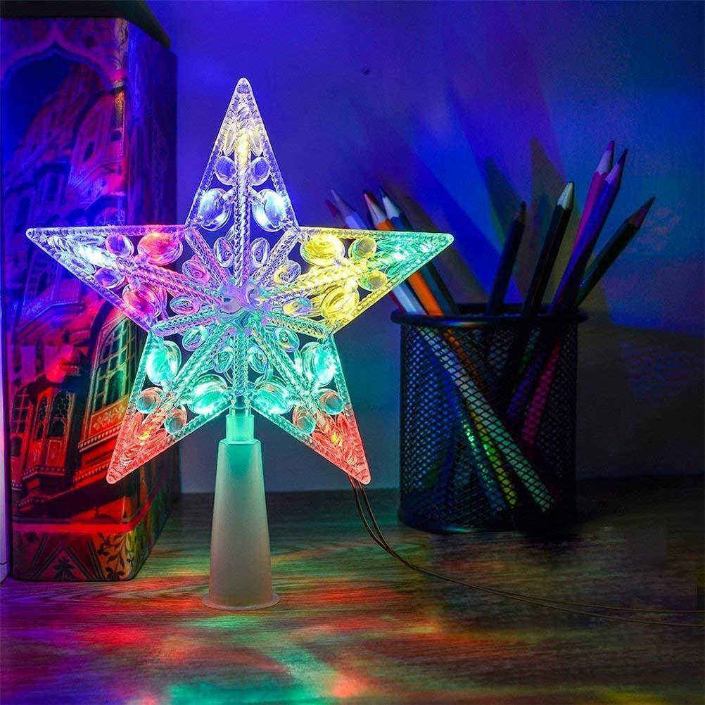 Christmas Tree Star Topper Flash