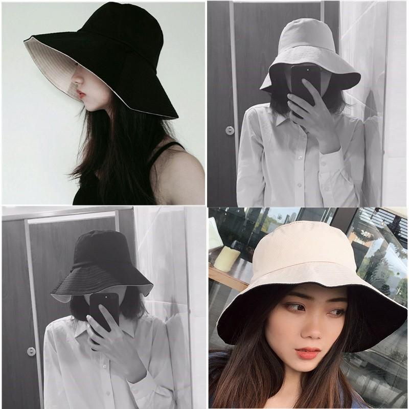 ef9625f5ac701e Women's casual wear double-sided cap outdoor cotton visor | Shopee ...
