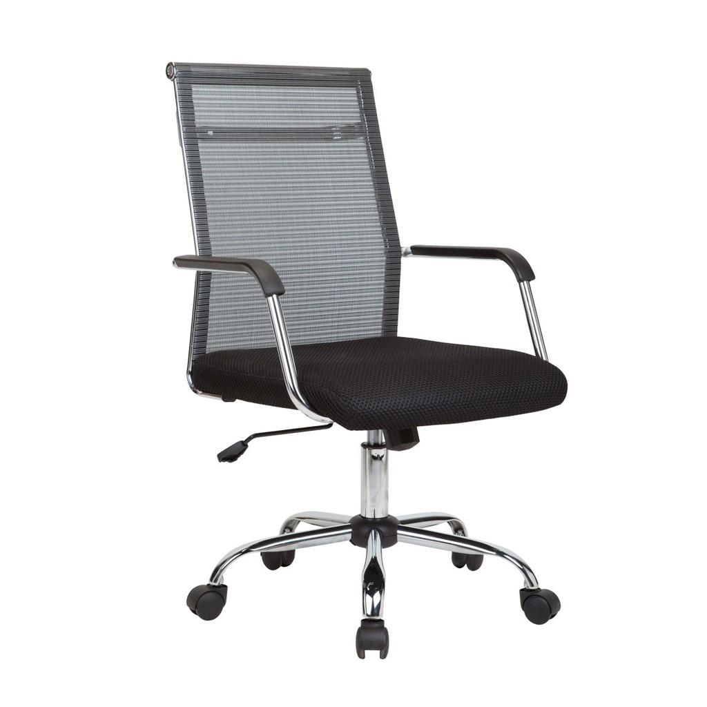Ergodynamic Emc 166 Mid Back Mesh Office Chair Furniture Black