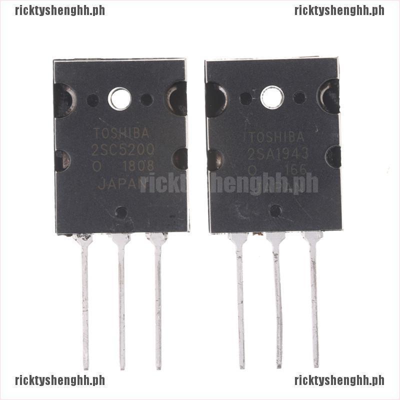 2pair 2SA1943 /& 2SC5200 PNP Power Transistor RS