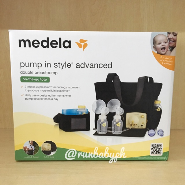 Medela Pump In Style Advanced Pump With Tote Bag Shopee Philippines