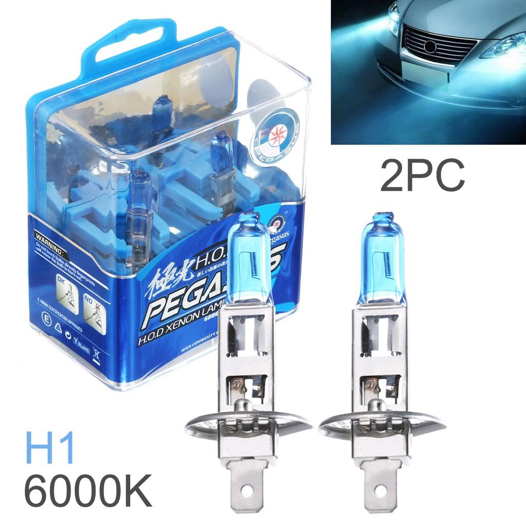 2x H1 Xenon  HID White Halogen 100 W Head light bulb Car Lamps 12V