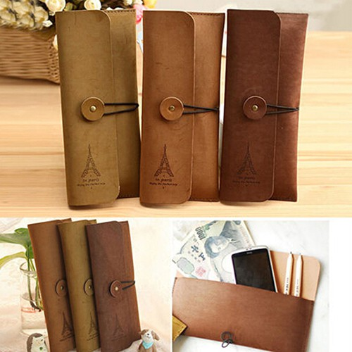 Kind-Hearted Tan Leather Binocular Case Cameras & Photo