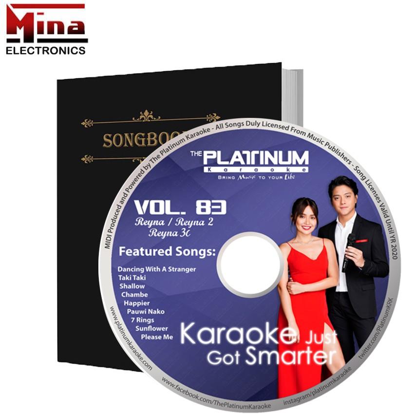 PLATINUM REYNA 1 / 2 / 3C Latest CD & Full Songlist Songbook