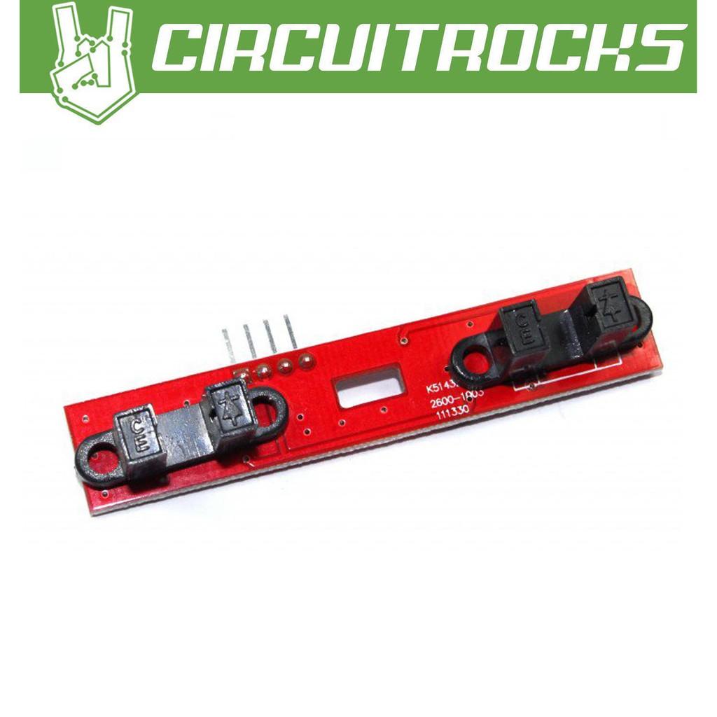 Optical Encoder Speed Sensor 2 Channel Module for 2WD Smart Car Tachometer
