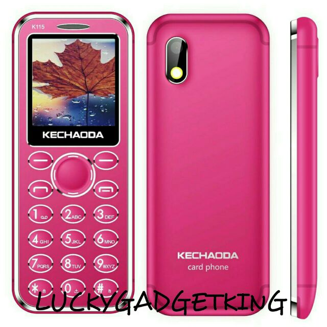 KECHAODA K115 CARD SIZE MINI MOBILE PHONE 1 44 INCH DISPLAY | Shopee