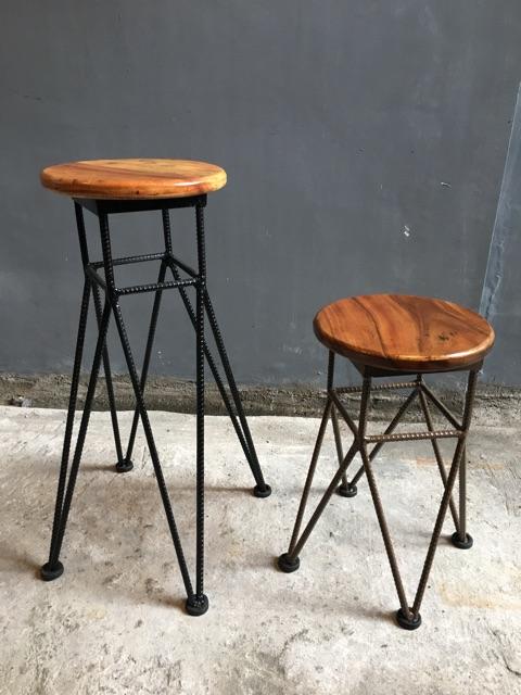 Tremendous Round Bar Stools Spade Creativecarmelina Interior Chair Design Creativecarmelinacom