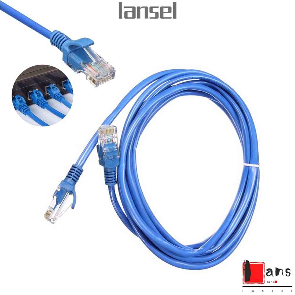 Popular 1//3//10m RJ45 CAT5 CAT5E Ethernet Lan Network Patch Cable for Internet BR