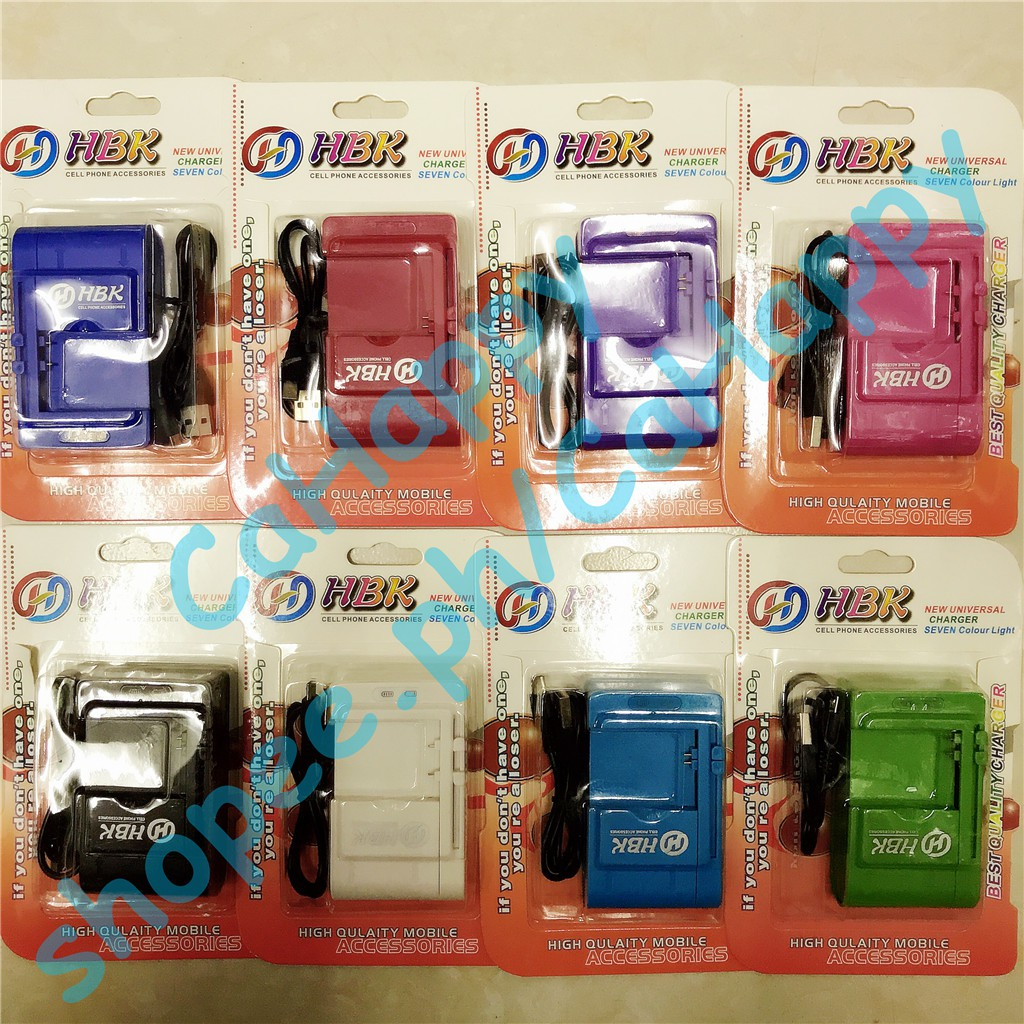 cod universal cell phone battery charger with USB port cable