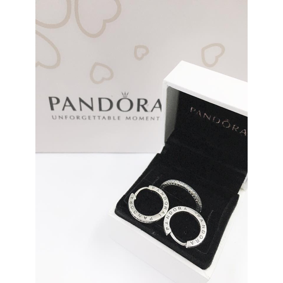 a391af26b Pandora Ring and earrings   Shopee Philippines
