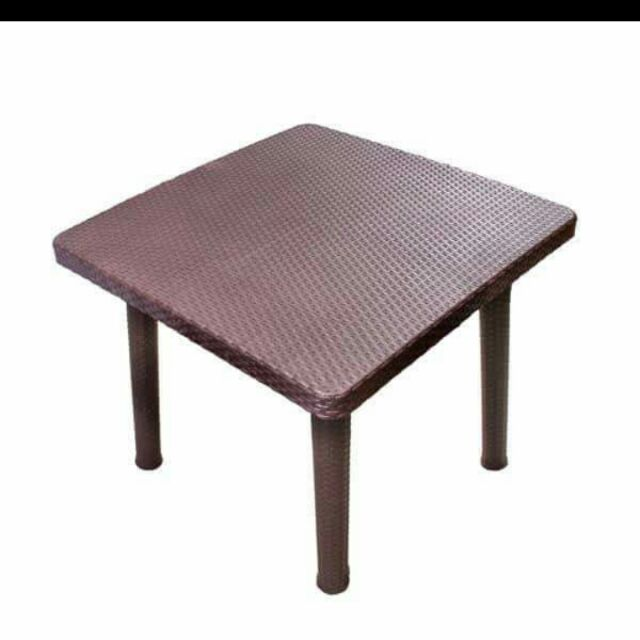 Plastic Rattan Chair And Table Per Piece Shopee Philippines