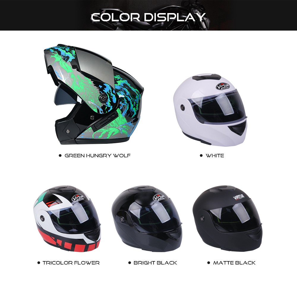 Gloves Winter Helmet New Motorcycle Helmet Double Lens Open//Full Face Helmet