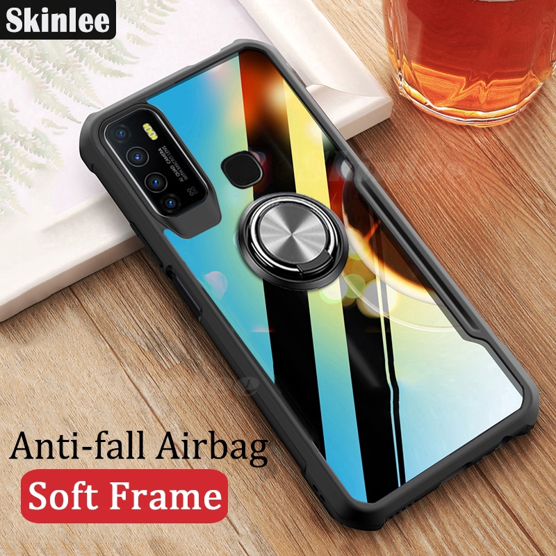 Skinlee For Infinix Hot 9 Hard Case Clear Transparent ...
