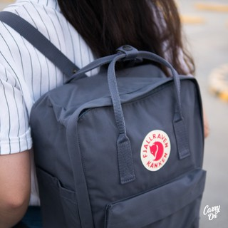 billiger sehr schön näher an Graphite- Fjallraven Kanken Classic Backpack