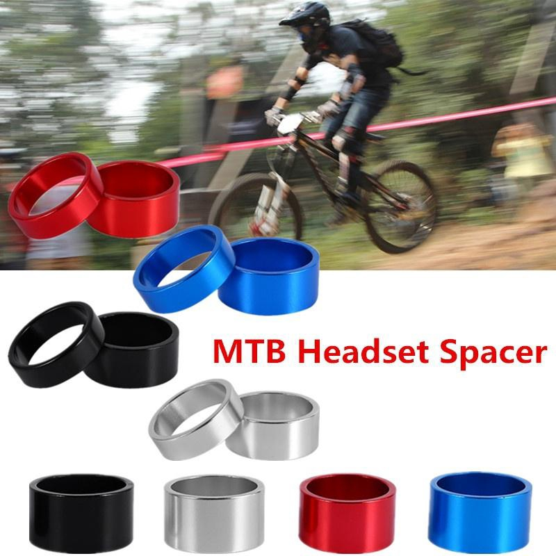 4pcs Bike Bicycle Cycle Aluminium Alloy Washer Headset Stem Spacer 5//10mm