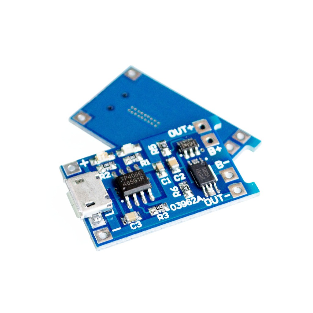 5v Micro Usb 1a 18650 Lithium Battery Charging Board Charger Module 55 Pro Mini Microcontroller Circuit Blue Arduino New Shopee Philippines