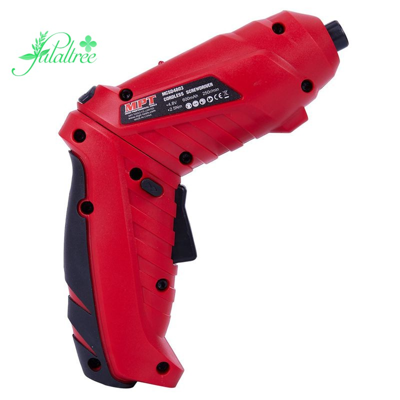 Mpt Portable Cordless Screwdriver Electric Drill With Chargeable Battery Diy Power Tools Shopee Philippines